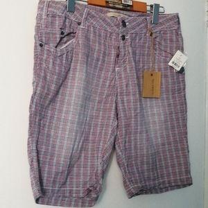 Size 11 Checkered shorts